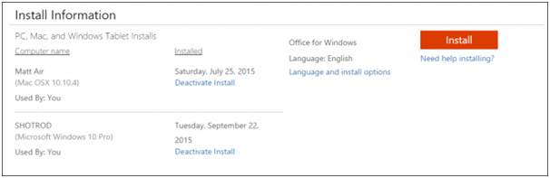 How To Install Office 2016 On Windows