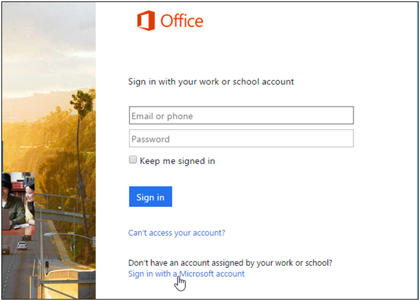 how to find your office 365 account