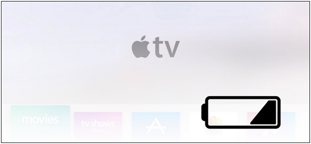 how to check and recharge apple tv remote at the right time