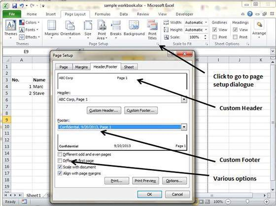 how to solve in excel 2010
