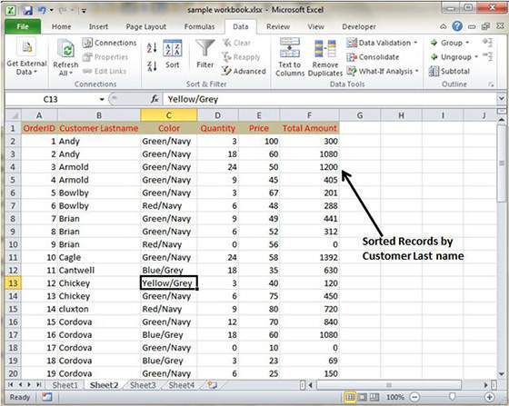 How to sort by date in excel in Australia