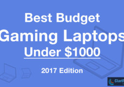 Best Budget Gaming Laptops Under $1000 – 2017 Edition